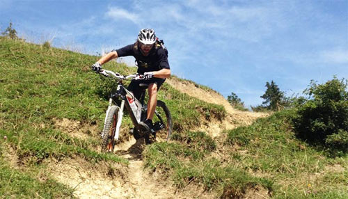 Mountainbike Fahrtechnik Training