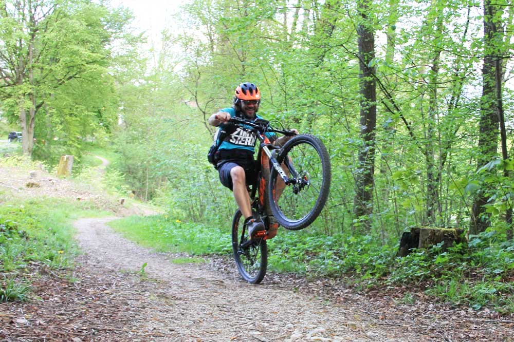 Wheelie E Mountainbike
