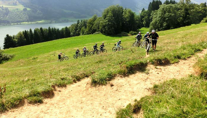 Firmenevents Mountainbike